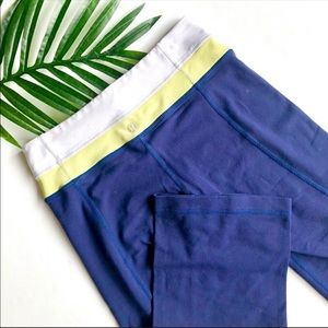 Lululemon Capri Navy Athletic Pants | Size 4